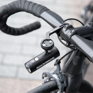 Image 5 - ROCKBROS Bicycle Light Bicycle USB Rechargeable Light  MTB Bike Light Power Bank  Flashlight Waterproof  Bicycle Headlight