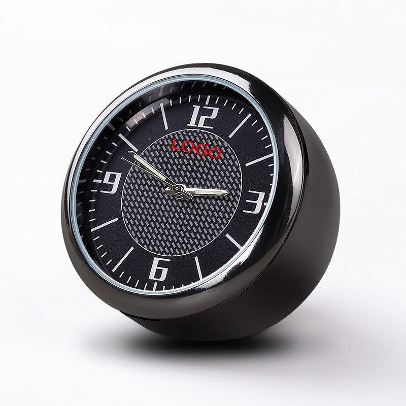 For Mazda Car Clock Refit Interior Luminous Electronic Quartz Ornaments watch Clock Decoration
