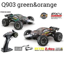 Xinlehong Q903 RC Car 1:16 2.4G 4WD 52km/h High Speed Brushless RC Car Dessert Off Road Car RC Vehicle Models Toys for Children