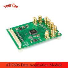 AD7606 Datenerfassung Modul Analog zu Digital Umwandlung Modul 8 Kanal ADC Synchron Probenahme 16Bit 200KSps ADR421
