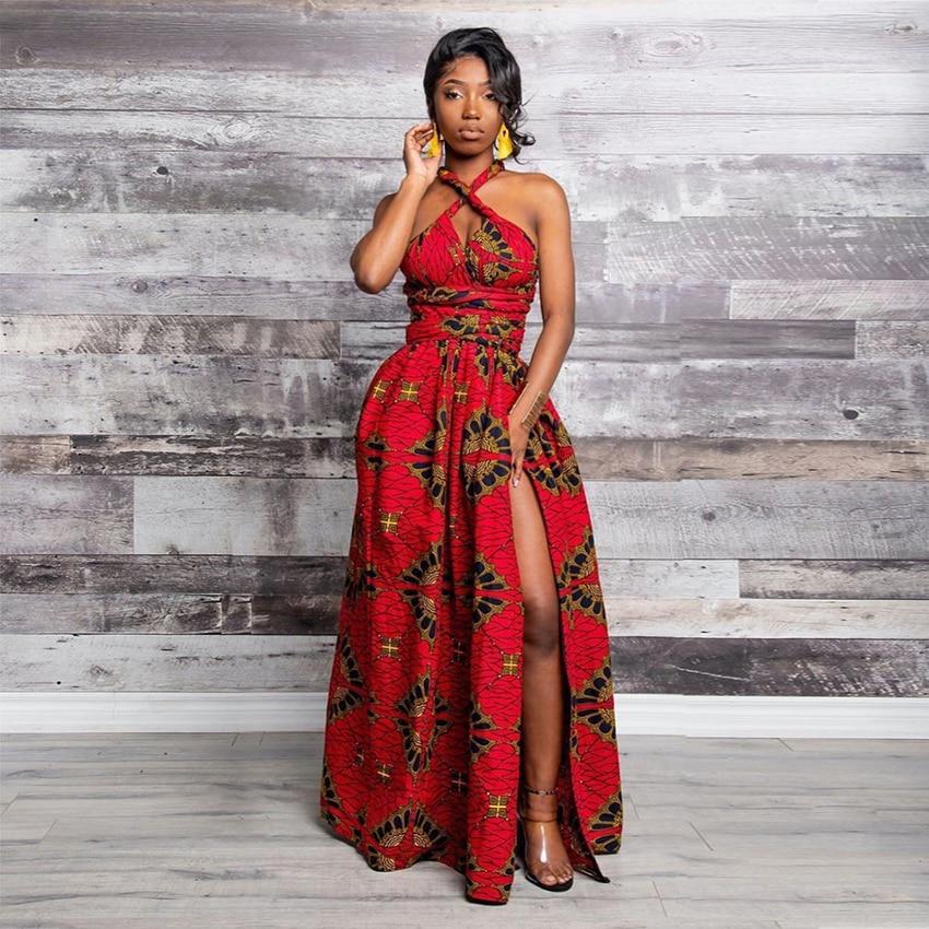@Shareefa Long African Dress 3