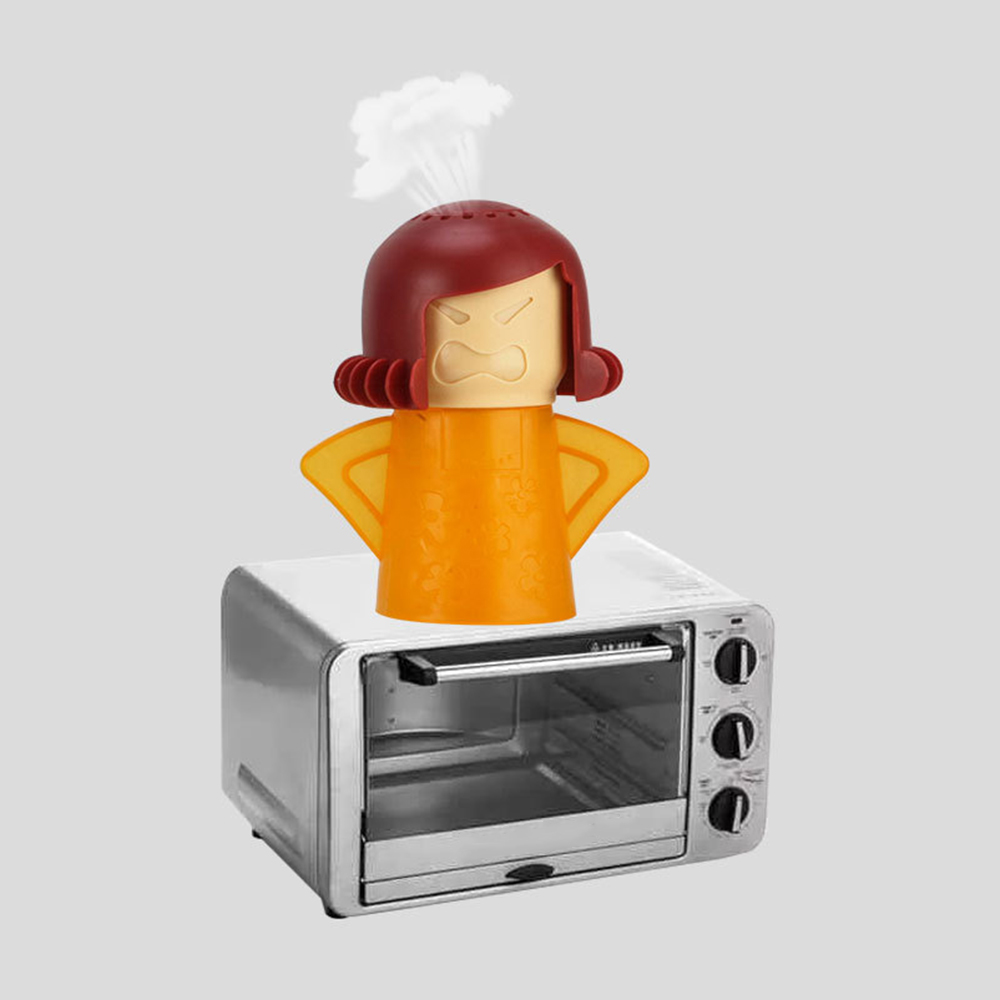 Home Deodorant Angry Mother Microwave Cleaner Cartoon Cold Mother Refrigerator Cleaner To Taste Fresh Deodorant