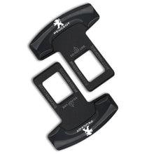 Clip Seat-Belt-Buckle Auto-Accessories 5008 3008 Peugeots for 107/108/206/.. 1pcs Car-Logo