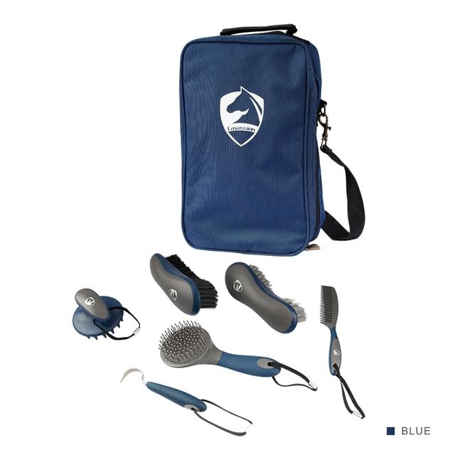 Cavassion Equestrian Brush & Comb Kit  1