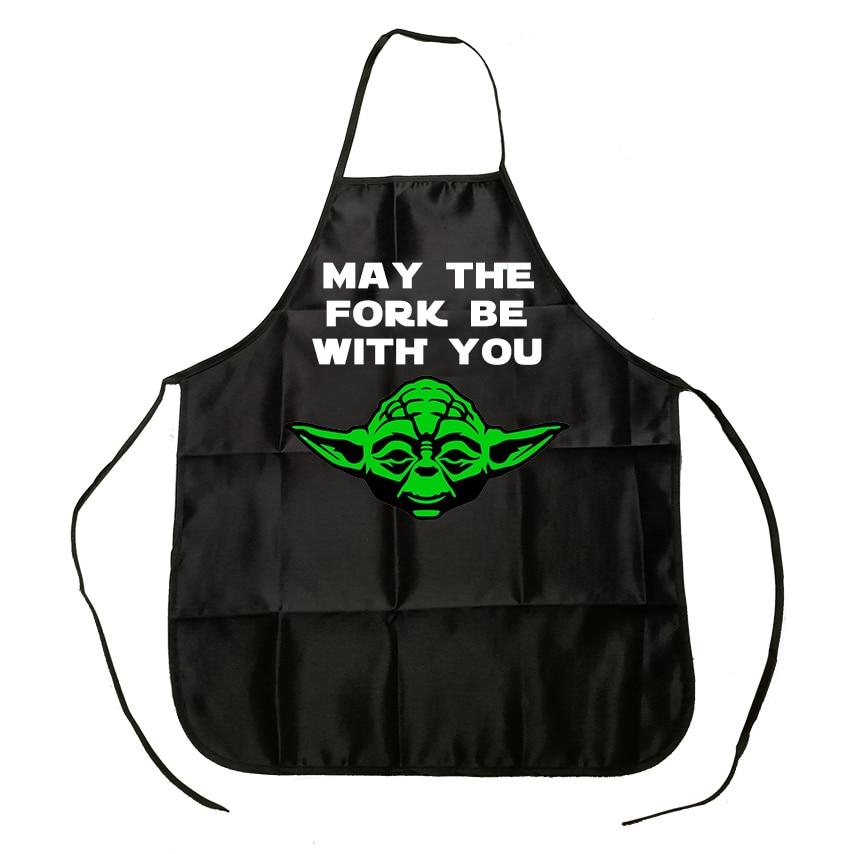 Star Wars May The Forks être Avec Vous Drôle Cuisine Chef Chapeau Bonnet