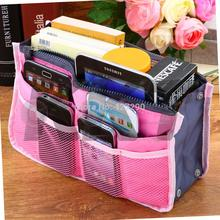 16 Colors Makeup Bag women Practical Handbag Purse Nylon Double Zipper Multifunctional Travel Pocket Organizer Cosmetic Storage
