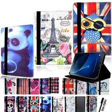 Folio-Cover-Case T285 Samsung Galaxy for Tab A6 -Leathersmart-Tablet-Stand KK T280 LL