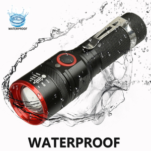 Image 3 - Waterproof 5200LM USB Rechargeable Flash light XML T6 Led Flashlight Zoomable 3 modes torch for 18650 with USB cable Camping z40