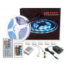 LED Light Strip 5050RGB Set 24/44 Key 5 Meters 150 Lights Colorful Color Change For Decoration
