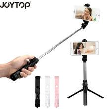 Universele Draadloze Bluetooth Selfie Stok Mini Opvouwbare Telefoon Statief Uitschuifbare Steel Monopod Voor Mobiele Telefoon Selfie Stok