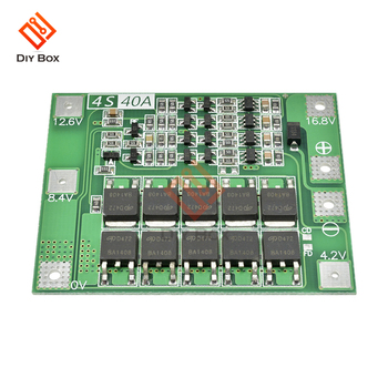 lifepo4 18650 Lithium Battery Charger Protection balance Board BMS 1S 2S 3S 4S 5S 6S 7S 10S 13S 14S 16S 12v 48v with balancer image