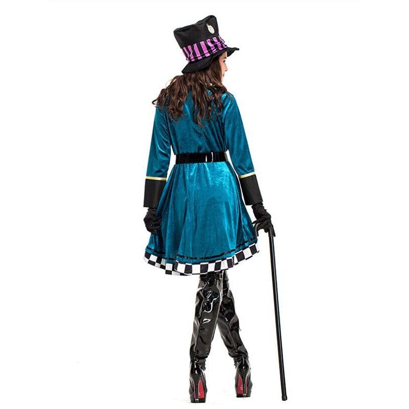 mágico cosplay halloween carnaval vestido mágico