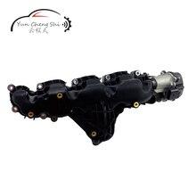цена на Auto Intake Manifold 03L129711AG with Throttle set Auto Parts Engine Intake Manifold For V W 2.0L AUDI A3 A5 A6 Q5 TT