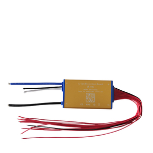 Image 2 - Super thin 48V 13S 15A 25A 35A Lithium battery BMS PCM PCB with heat sensor and on off switch for Hailong battery ebike battery