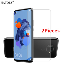 2Pcs For Huawei Nova 5i Pro Glass Screen Protector Tempered for Protective