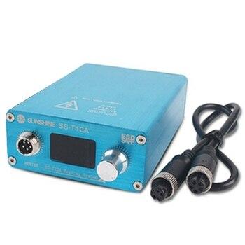 US Plug, T12A Host Soldering Station Kit Motherboard Repair Tool Motherboard Layer Repair Repair Heating System