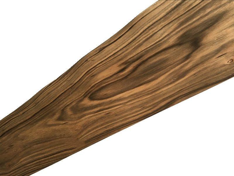 2X Natural Genuine Ebony Wood Veneer Vintage Furniture 0.2mm Thick C/C
