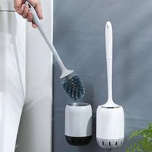 Набор щеток для чистки туалета с длинной ручкой без перфорации
