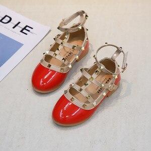 Image 5 - 2019 Yaz Kızlar Sandalet Moda Chaussure Fille Roma Çizmeler Yüksek top çocuk sandaletleri Yürümeye Başlayan Çocuk Sandalet Kızlar Ayakkabı