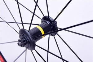 Image 3 - 700C Cosmic Elite Della Bici Della Strada Della Bicicletta Ultraleggero In Lega di Alluminio V Freno Ruote 40 millimetri Wheelset Cerchi