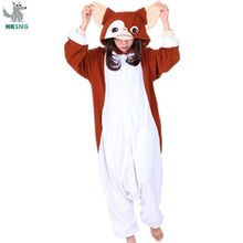 HKSNG High Quality Adult Animal Gremlins Gizmo Pajamas Cartoon Monster Onesies Cosplay Costumes Jumpsuits Best Gift Kigurumi