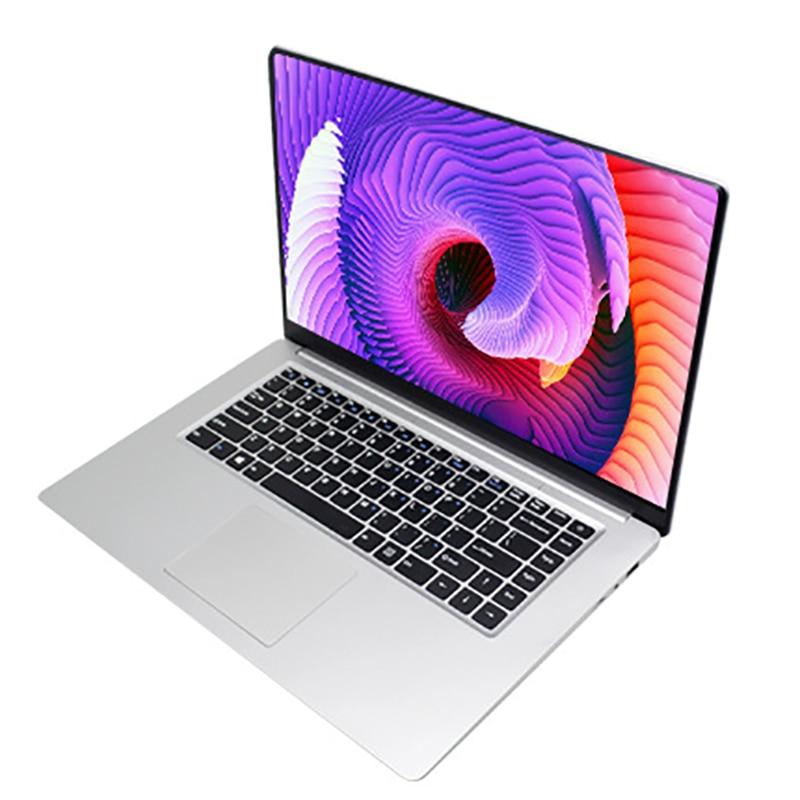 15,6 zoll 4GB RAM 64GB SSD Notebook intel E8000 Quad Core Laptops 1920*1080 Win10 dünne Notebook computer Student Computer