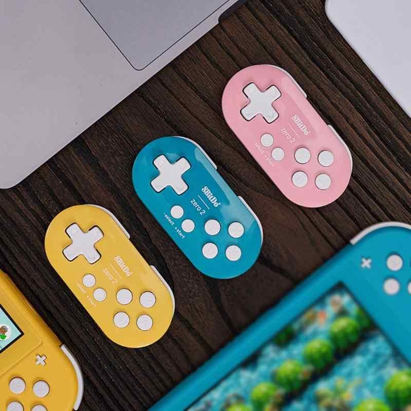 8BitDo ゼロ 2 ワイヤレス Bluetooth ミニ NS Windows Android MacOS 用の子供のためのゲームゲームパッドおもちゃ