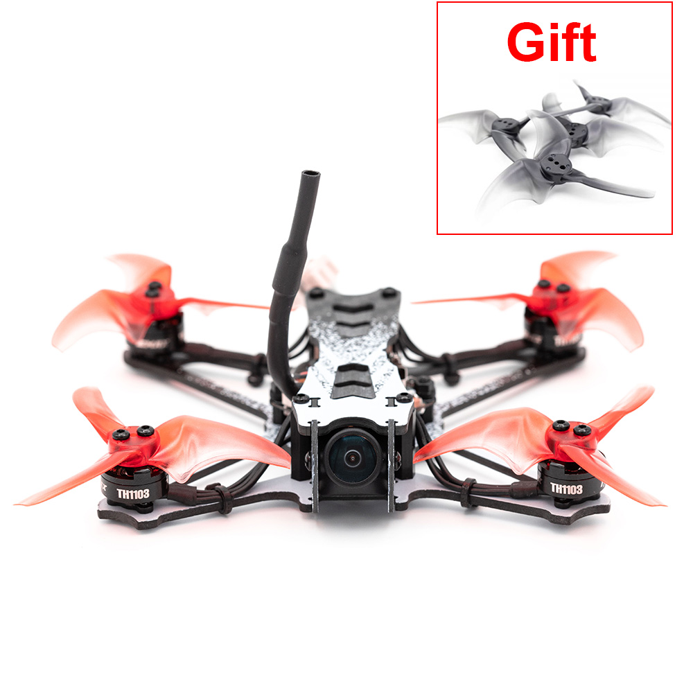 Official Emax Tinyhawk II Freestyle - FPV Drone F4 5A 7000KV RunCam Nano2 700TVL 37CH 25/100/200mW VTX 2S - FrSky BNF With Gift