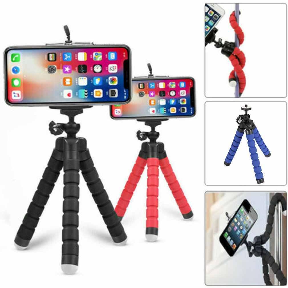 حامل هاتف حامل هاتف جوال مرن ثلاثي الأرجل قوس Selfie توسيع حامل جبل Monopod التصميم اكسسوارات ل كاميرا الهاتف المحمول