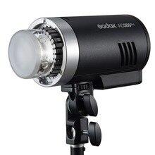 Godox AD300Pro 300W HSS TTL 2.4G 1/8000 אור עגול ראש חיצוני פלאש עם ליתיום סוללה AD E2 סוגר עבור DSLR מצלמות
