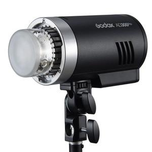 Image 1 - Godox AD300Pro 300W HSS TTL 2.4G 1/8000 אור עגול ראש חיצוני פלאש עם ליתיום סוללה AD E2 סוגר עבור DSLR מצלמות
