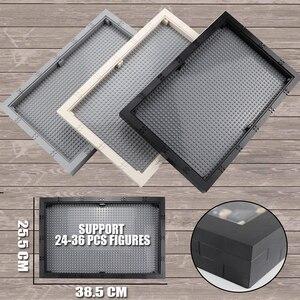 Image 1 - Grande taille vitrine/boîte panneau anti poussière 32*48 points plaque de Base bricolage blocs de construction pièces compatibles Figures enfants jouets