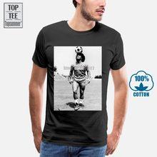 Camisa maglia diego armando maradona napoli calcio vintage anni 80 s 3xl dos homens t camisas moda 2018 moda clássico o pescoço