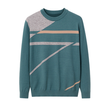 Sweater Pullovers Knitted Men's New Brand Winter O-Neck Casual Letter Slim-Fit Autumn