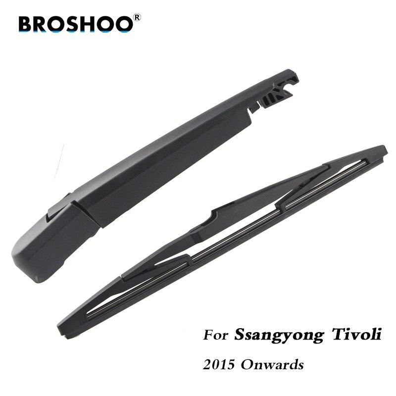 BROSHOO Car Rear Wiper Blades Back Windscreen Wiper Arm For Ssangyong Tivoli Hatchback (2015-) 310mm,Windshield Auto Styling(China)