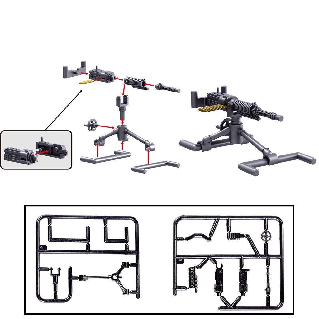 Toy Gun Model Building Blocks Bricks Gun Soldier Weapon Action Figure No Box