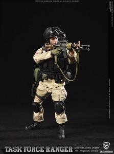 Image 2 - CrazyFigure LW005/LW006 1/12 US Delta Special Force mistrz sierżant Rangers zadanie 1993 mężczyzna żołnierz figurki