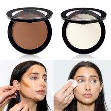 Face Highlighter Foundation Base Contour Powder Palette Bronzers Brightener Beauty Make Up Facial Concealer Makeup цена