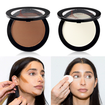 Face Highlighter Foundation Base Contour Powder Palette Bronzers Brightener Beauty Make Up Facial Concealer Makeup dnm makeup concealer palette contouring face corrector body liquid concealer contouring make up cover base foundation corretivo