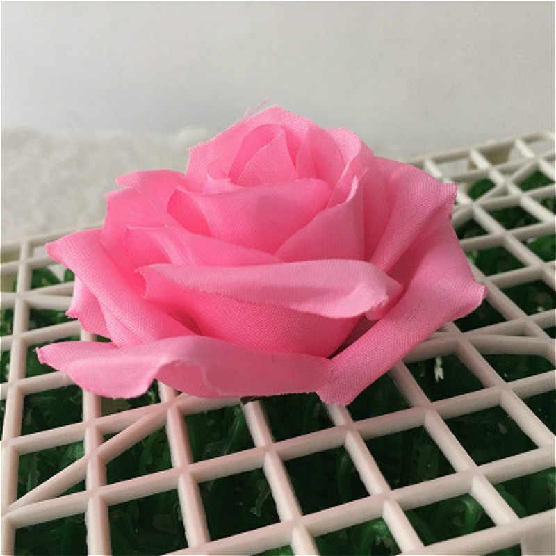 SUEF 1/5/10 PCS new rayon rosa bonita cabeça caixa de presente festa de casamento decoração de casa coroa recados @ 2