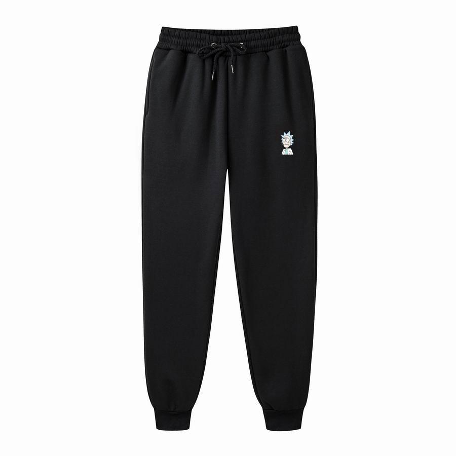 2020 New Fall New Men's Pants Rick Morty Printed Casual Fashion Joggers Knee Length Sweatpants Man Fitness Drawstring Pants Man