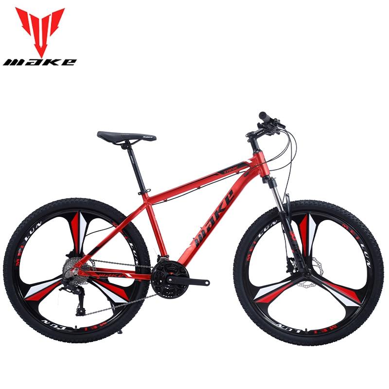 MAKE велосипед для взрослых 21 для измерения скорости 27,5