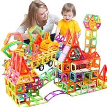 Mini Magnetic Designer Construction Set Model & Building Toy Plastic Magnetic Blocks Educational Toys For Kids Gifts
