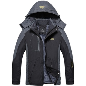 Image 2 - Detachable Hooded Coat Men Thick Warm Jackets Mens Winter Jacket Windproof Overcoat Male Outdoor Windbreaker Parkas Plus 5XL