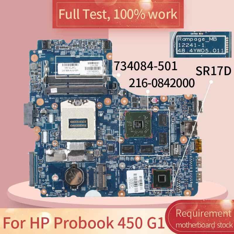 670794-601 para hp probook 4530 s 6050a2465501 670794-001 hm65 216-0809024 512 m notebook placa-mãe teste completo 100% trabalho