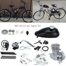 Gas-Engine-Kit Bike Mountain-Bike Electric-Bicycle 50cc for DIY 2-Stroke