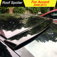 For Honda Accord 2008 2009 2010 2011 2012 2013 Roof Car Spoiler ABS Material Rear Primer Color Tail Wing Decoration For Accord