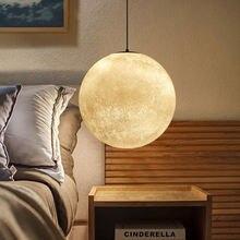 Креативный Дневной светильник современный простой в виде Луны