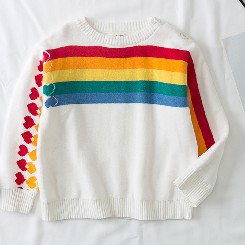 2020 New Baby Girls Boys Sweater Autumn Spring Kids Clothing Baby Boys Pullover Sweater Knitted Sweater Children's Clothing 1
