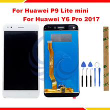 Tested LCD Display For Huawei P9 Lite mini LCD Screen For Huawei Y6 Pro 2017 SLA-L02 SLA-L22 -TL00 Lcd Display Screen Assembly v156b2 l02 lcd display screens